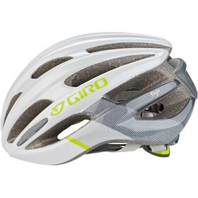 Giro Saga Helm Damen matte white/citron